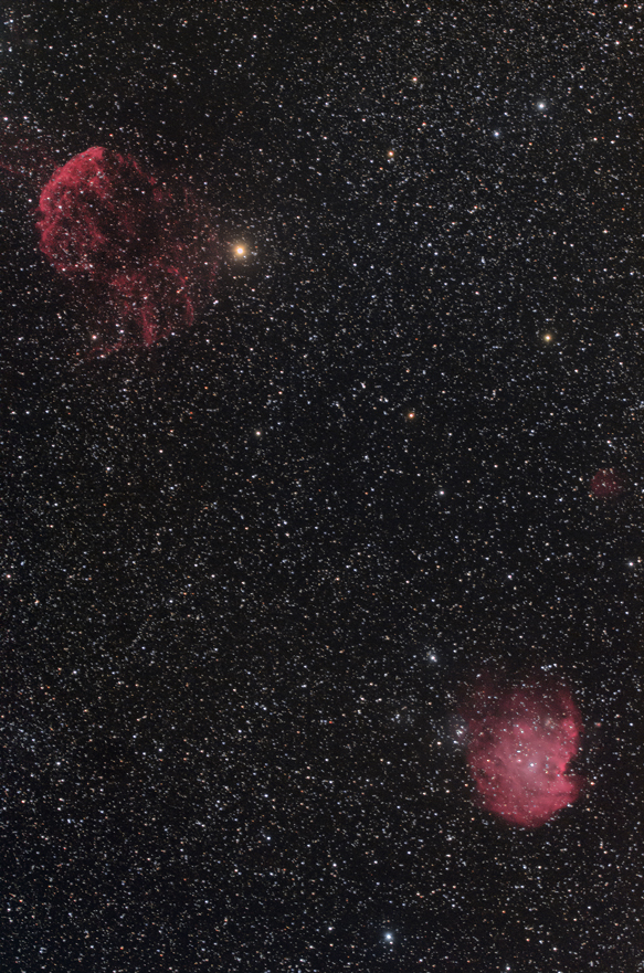モンキー星雲クラゲ星雲