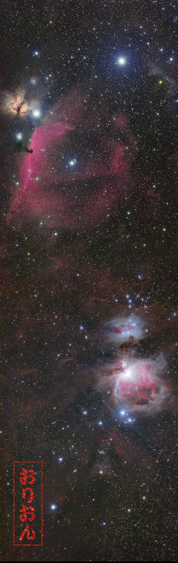 馬頭星雲オリオン星雲