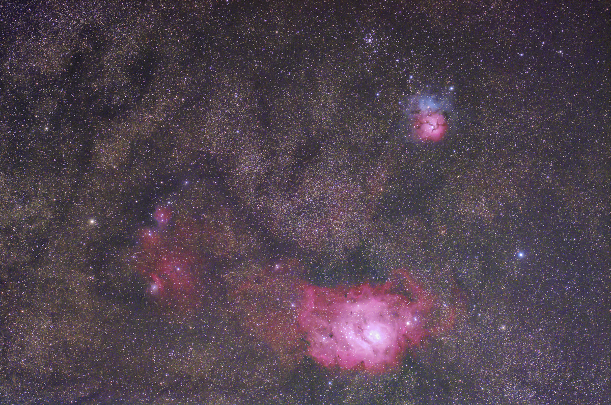 三裂星雲干潟星雲