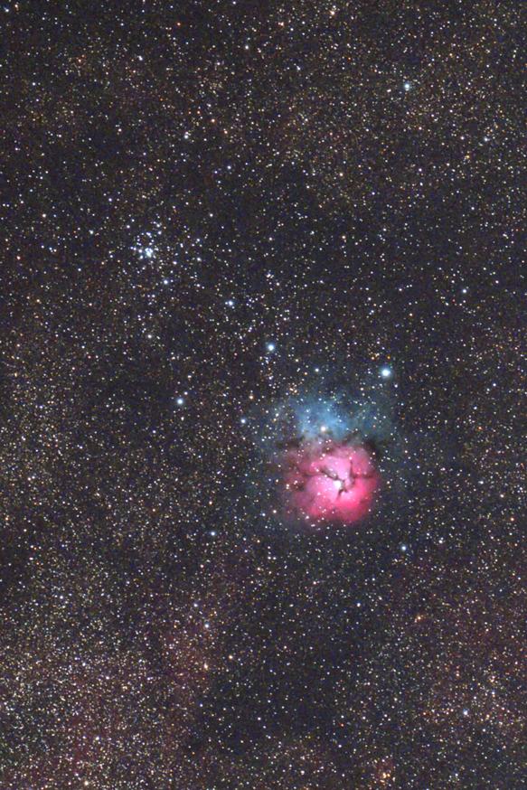 M20三裂星雲