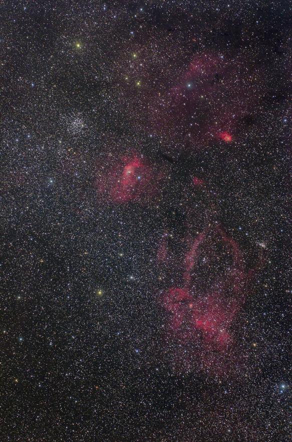 バブルクワガタ星雲