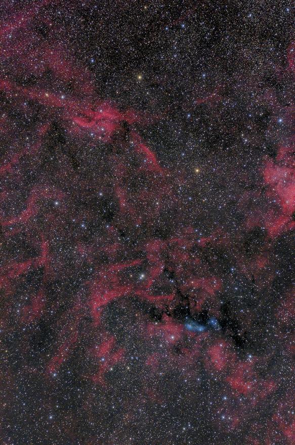プロペラ星雲付近