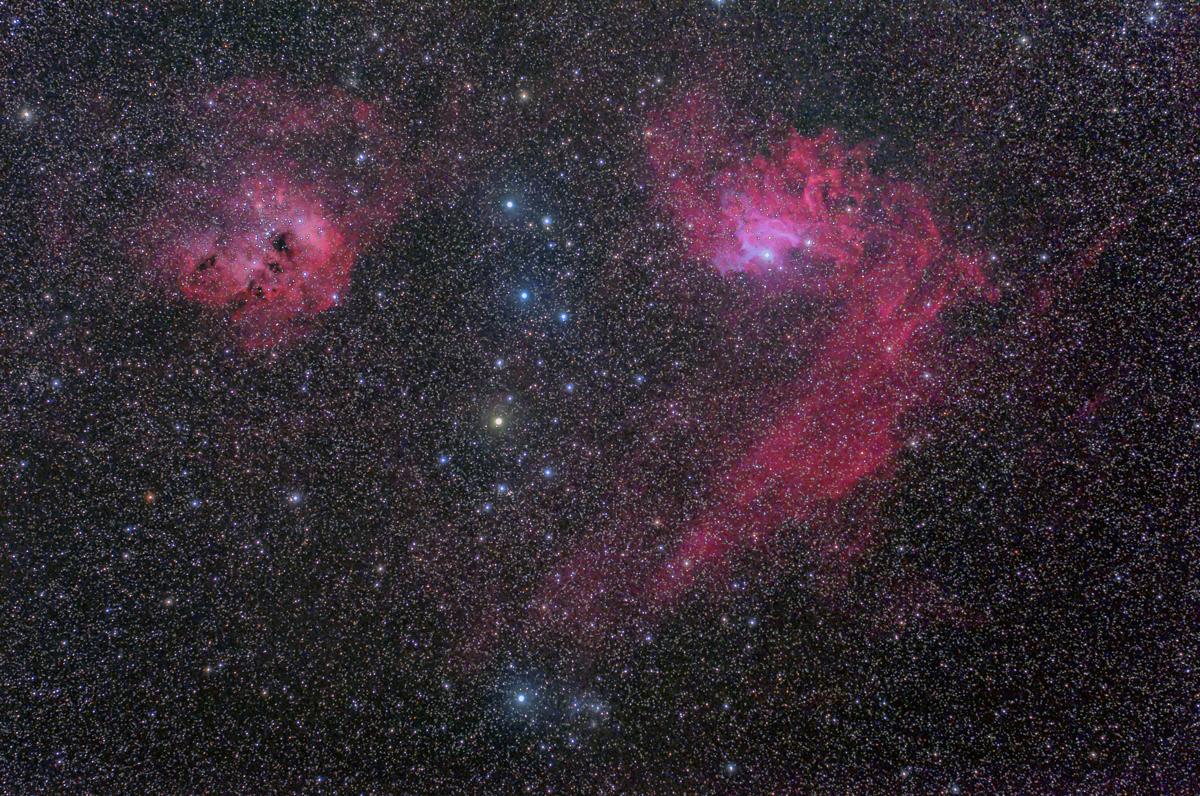 まがたまドクロ星雲