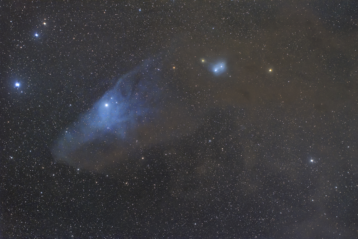 青い馬星雲