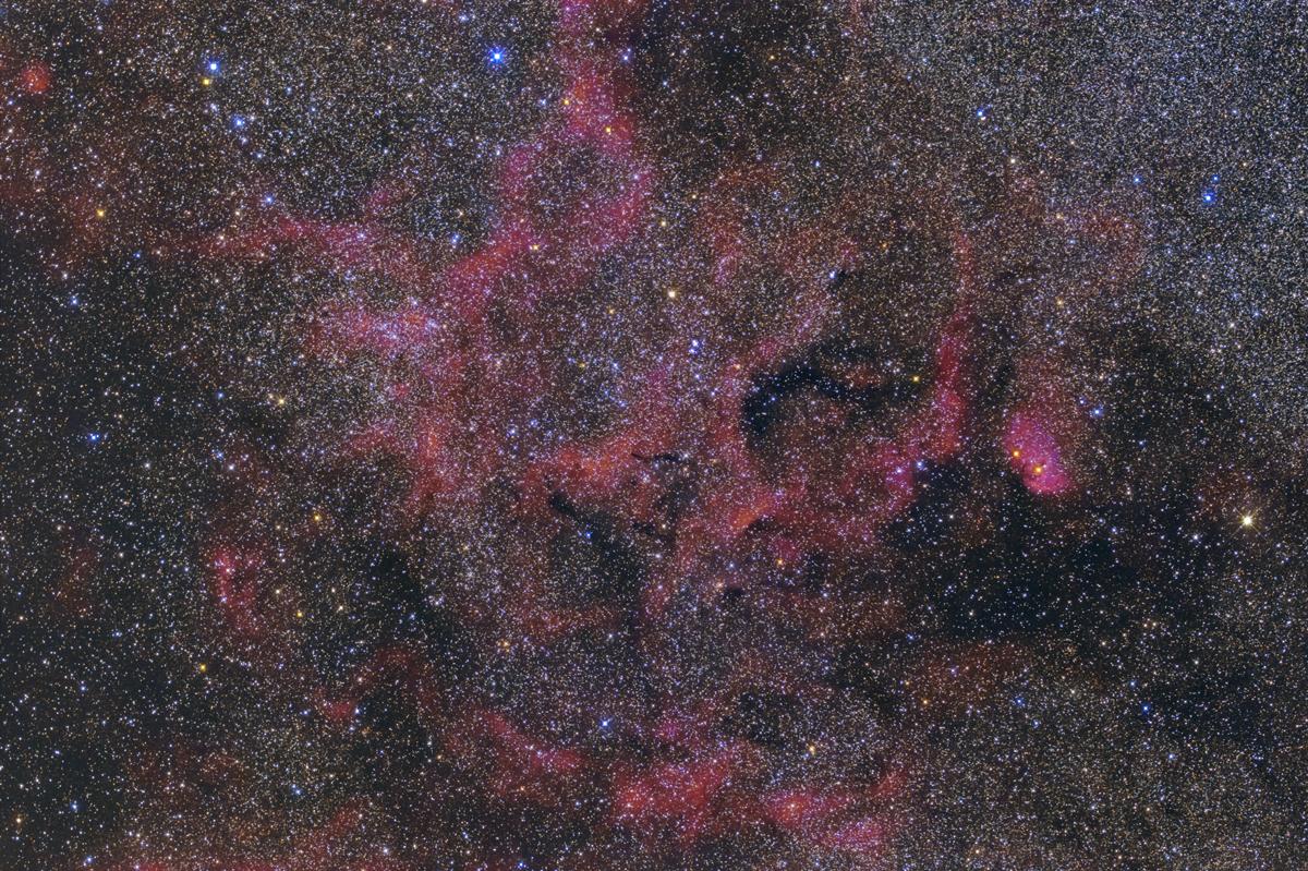 sh2-101 チューリップ星雲