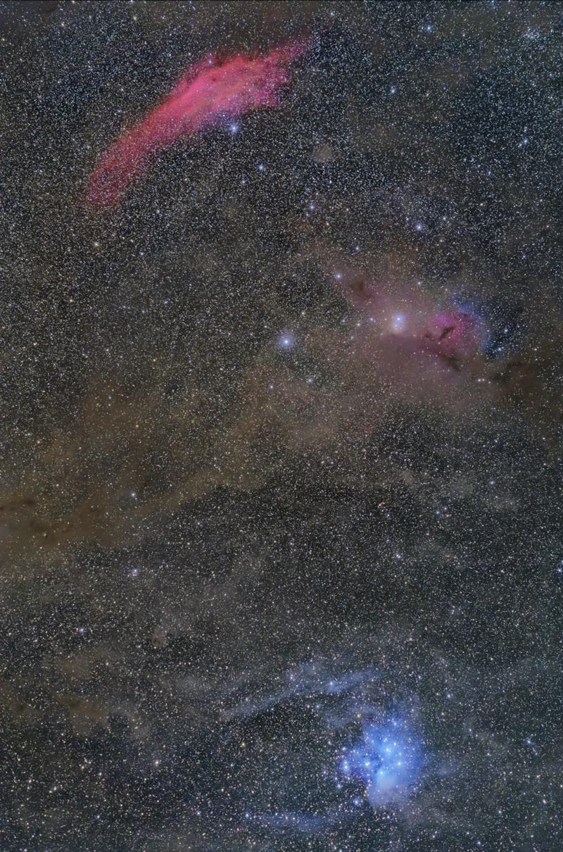 カリフォルニア星雲すばる