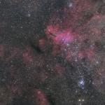 IC4628 エビ星雲