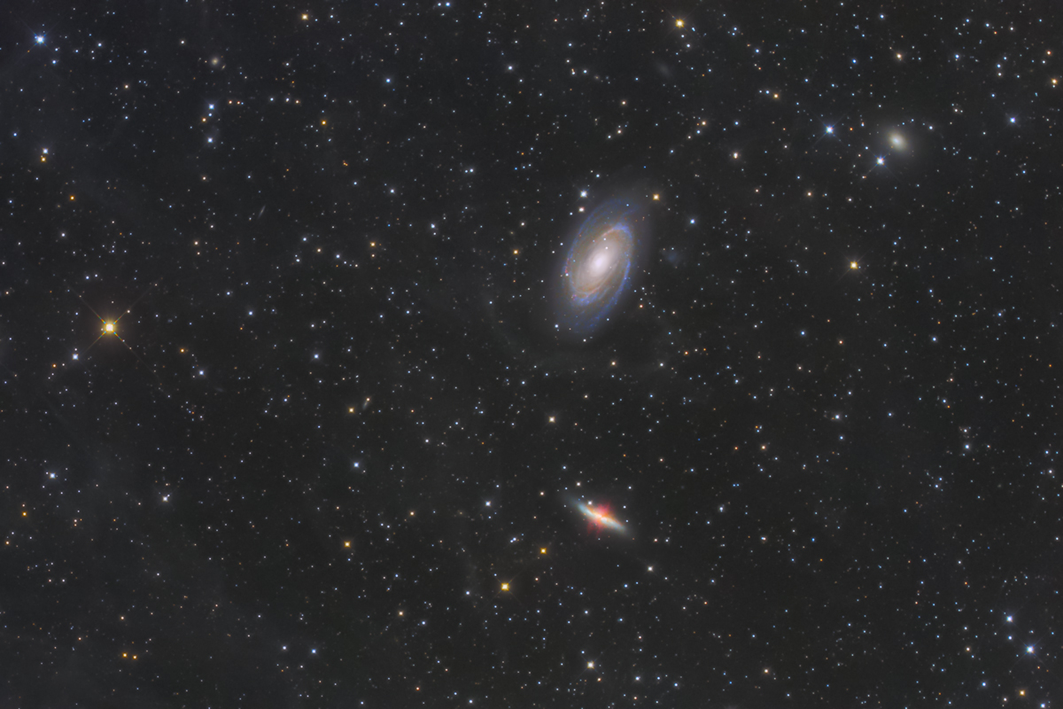 M81M82銀河