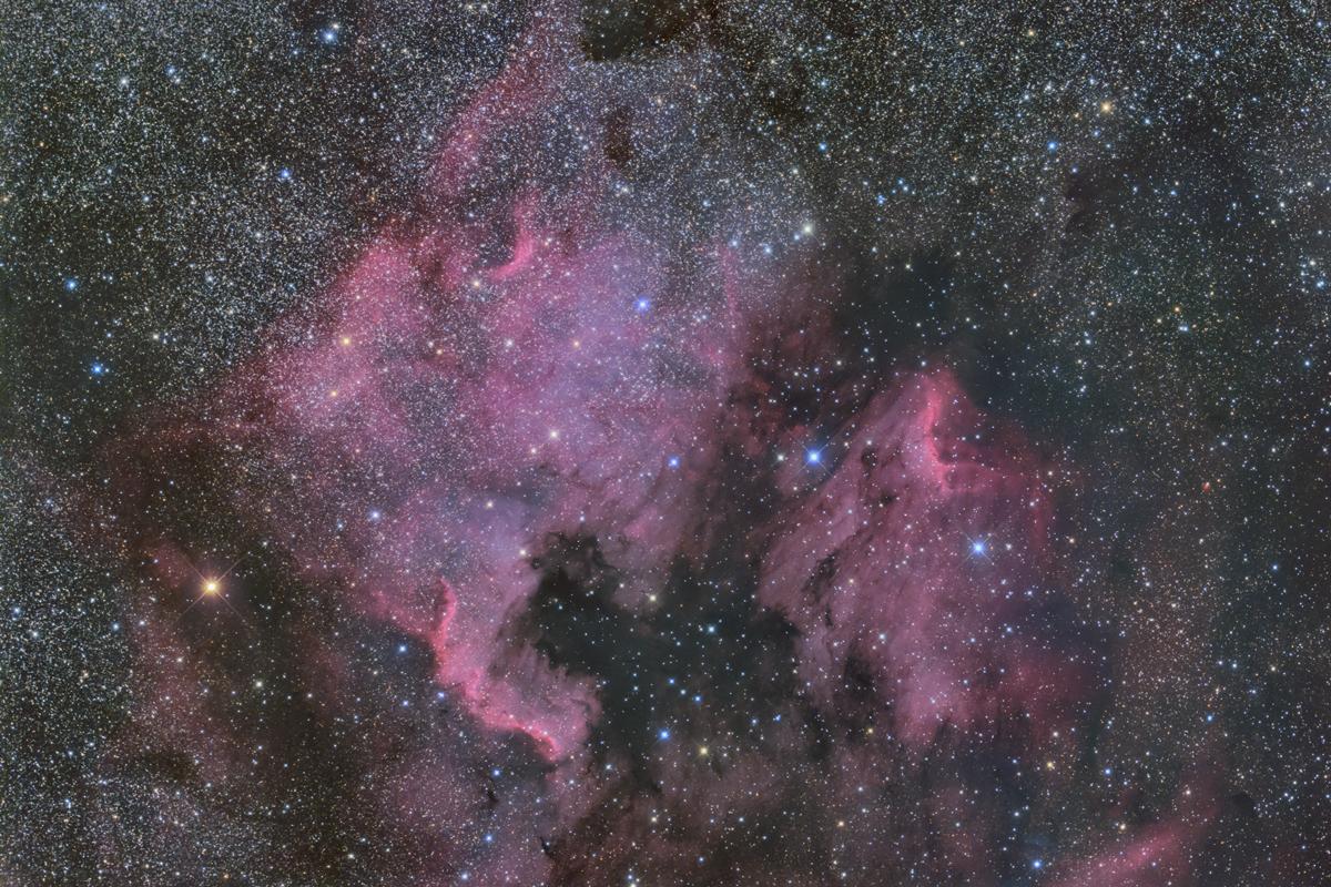 北アメリカペリカン星雲