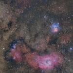 三裂干潟星雲