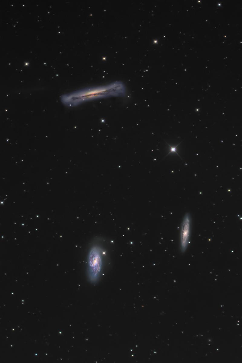 しし座トリオ銀河